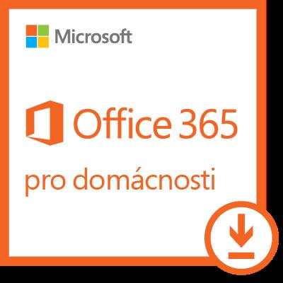 Microsoft Office 365 pro domácnosti, 1 rok, elektronicky, 6GQ-00898