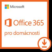 Obrázek Microsoft Office 365 pro domácnosti, 1 rok, elektronicky