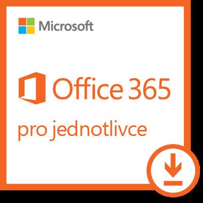 Microsoft Office 365 pro jednotlivce, 1 rok, elektronicky, QQ2-00012