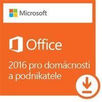 Obrázek Microsoft Office 2016 pro domácnosti a podnikatele,  Win, elektronicky