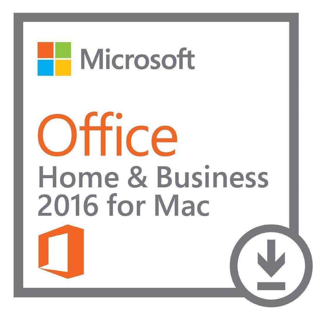 Microsoft Office 2016 pro Mac pro domácnosti a podnikatele, elektronicky, W6F-00627