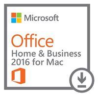 Obrázek Microsoft Office 2016 pro Mac pro domácnosti a podnikatele, elektronicky