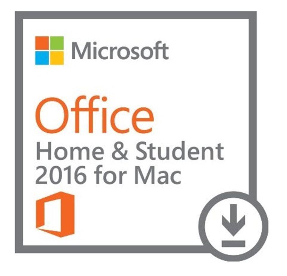 Microsoft Office 2016 pro Mac pro studenty a domácnosti, 1 rok, elektronicky, GZA-00550