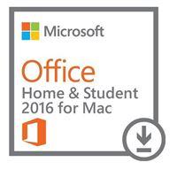 Obrázek Microsoft Office 2016 pro Mac pro studenty a domácnosti, 1 rok, elektronicky