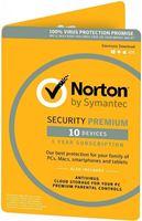 Obrázek Symantec Norton Security Premium 3.0 25GB CZ,  1 uživatel,  10 zařízení, 12 měsíců, elektronicky