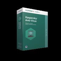 Obrázek Kaspersky Anti-Virus CZ, 4PC, 12 měsíců, nová licence, elektronicky