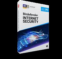 Obrázek Bitdefender Internet Security 2019, 1 zařízení, 3 roky, nová licence, elektronicky