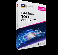 Obrázek Bitdefender Total Security 2019, 5 zařízení, 1 rok, nová licence, elektronicky