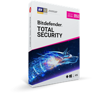 Obrázek Bitdefender Total Security 2019, 10 zařízení, 2 roky, nová licence, elektronicky