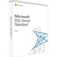Obrázek Microsoft SQL Server Standard 2019 Eng DVD 10 Clt