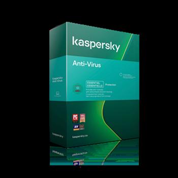 Obrázek Kaspersky Anti-Virus CZ, 1PC, 2 roky, nová licence, elektronicky